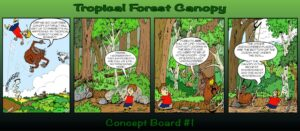Board 1: an exotic encounter in a British forest